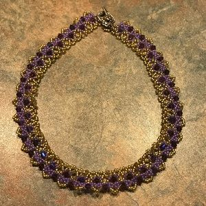 Jewelry - Handmade Swarovski Crystal Beaded Necklace